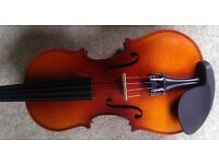 Violin, 3/4 size in excellent condition