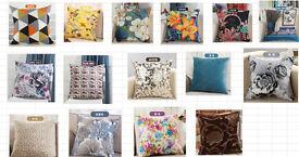 designer cushion covers £4 each