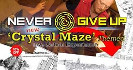 'Crystal Maze' themed live action adventure!