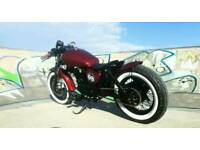 Suzuki gz 125 marauder custom bobber new build