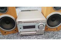 Sony Mini HI-FI Component Sytem DHC-MD373 Mini Disc CD RDS Radio