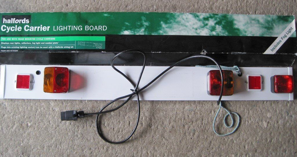 HALFORDS CYCLE CARRIER LIGHTING BOARD & HALFORDS CYCLE CARRIER LIGHTING BOARD | in Rushmere St Andrew ... azcodes.com