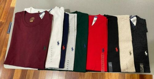 Polo Ralph Lauren Mens BIG & TALL Crewneck T Tee Shirt Brand New With Tag