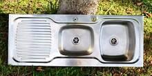 Double kitchen sink aluminium Maroochydore Maroochydore Area Preview