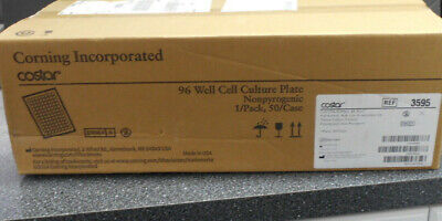 Costar 3595 96 Well Cell Culture Plate Flat Bottom W Low Evaporation Lid Polyst