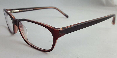 JONES NEW YORK J730 Designer Eyeglass Frames 53 [] 17 135 mm Burgundy