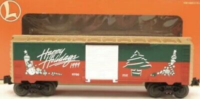 ✅LIONEL CHRISTMAS 1999 BOX CAR 6-26243! FOR O GAUGE TRAIN SET HAPPY HOLIDAYS