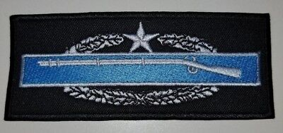 Combat Infantry Badge 2nd Award Patch Award Combat Infantry Badge