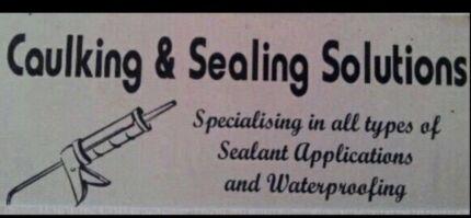 Professional caulking services internal and external caulker
