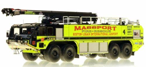 OSHKOSH 8X8 STRIKER 4500 MASSPORT FIRE-RESCUE E4 1/50 Fire Replicas FR081-4