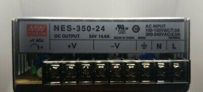 Meanwell Mean Well Nes-350-24 24 Volt 350watt Dc Power Supply