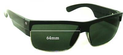 SFx Replacement Sunglass Lenses fits Electric MUTINY - 64mm (Electric Mutiny Sunglasses)
