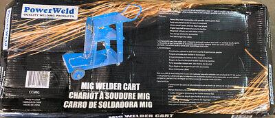 Powerweld Mig Welder Cart 3 Teir Blue A9