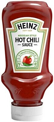 (100ml=1,00€) Heinz Hot Chili Sauce Mexican Style - 220 ml Flasche - Grillsauce