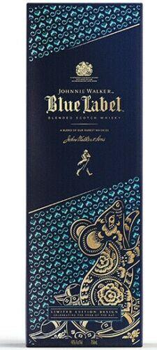 Johnnie Walker Blue Label Lunar New Year of the Rat Limited Empty Bottle 2020