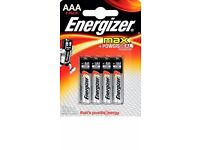 16 AAA Batteries - 8 Energiser & 8 Duracell