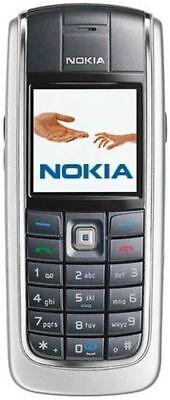 Silver Nokia Pouch - WORKS SILVER BAR PHONE NOKIA 6020 FIDO CELLULAR MOBILE CELL SMALL POCKET CAMERA