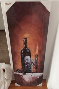 Brand new painting still in plastic- $15