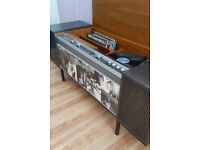 Retro record player - full working order - strong display cabinate