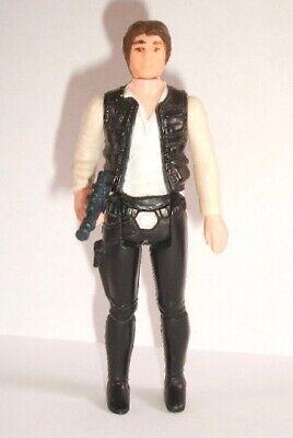 Vintage Star Wars Complete Han Solo Small Head Figure - 1977 - C9+ - HONG KONG