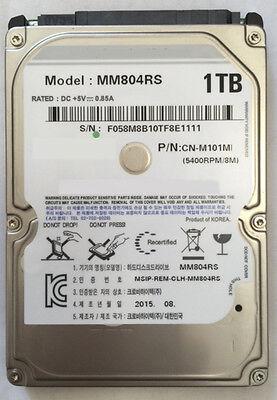 """New 1TB (1000GB) 8MB Cache 5400RPM SATA 2.5"""" 9.5mm Notebook Hard Drive, PS3 OK"""