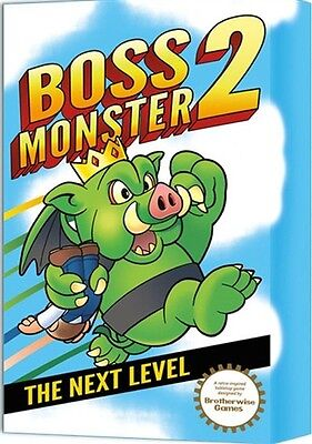 Boss Monster 2 Card Game (Limited Edition), New