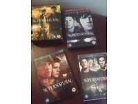 Supernatural series 1-4