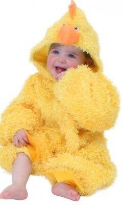 ★ Party Baby Chicken Hänchen Huhnkostüm Hühnchen KinderKostüm Kinder Uhu 86-104 ()