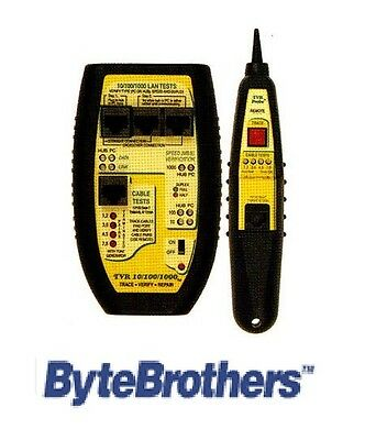 Tvr 101001000 Lan Tester Tone And Probe - Byte Brothers