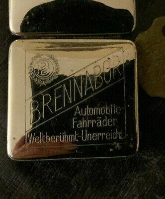Original Brennabor Rasierapparat Rasier Brandenburg an der Havel Werbegeschenk