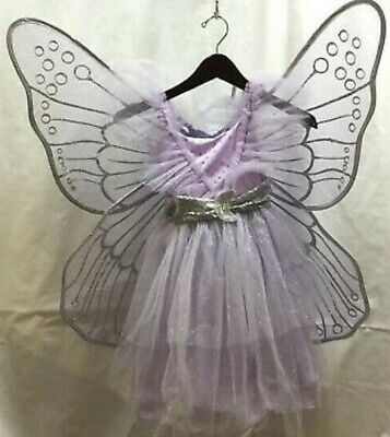 Pottery Barn Kids Lavender Princess Fairy Light-Up Costume Sz: 7-8 Years #6873