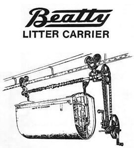 Wanted:  Litter Carrier Parts