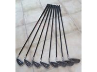 GOLF CLUBS - HIPPO TM1 OVERSIZE OFFSET IRONSET 4-SW (8 CLUBS) - EASY HIT