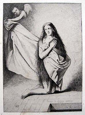 José de Ribera Maria von Ägypten 1641 Aegyptiaca Radierung Santa María Egipcíaca