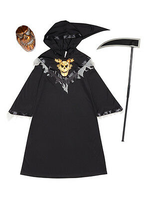 Book Day Costume Pumpkin Reaper Costume With Mask and Hoe Size 7-8 - Hoe Halloween Costumes