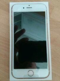 Brand New In Box IPhone 6s Rosegold 16gb