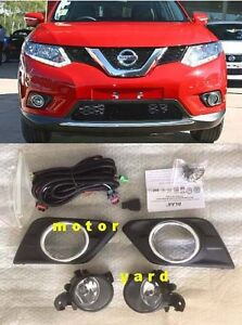 (#225) Nissan X-trail Xtrail T32 2013 to 2016 Driving / Fog Lights Fog Lamps Kit