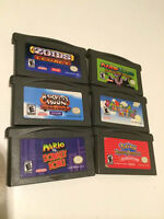 GameBoy Advanced with 6 games