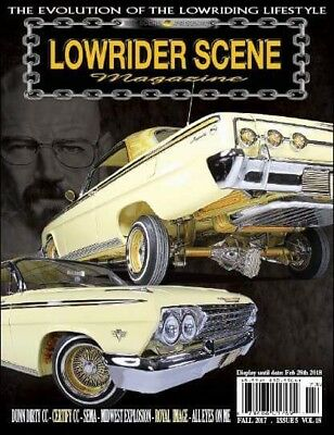 LOWRIDER SCENE MAGAZINE Vol 18 Featuring  Breaking Bad 62 The 3x Excellence Winn