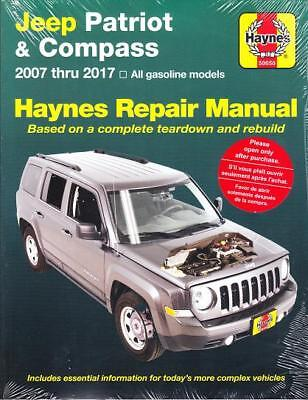 2007-2017 Jeep Patriot Compass Haynes Repair Service Workshop Manual 286X