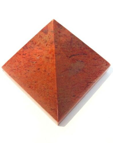 Red Jasper 47 Grams Pyramid Crystal Healing Feng Shui Bagua Gift Power