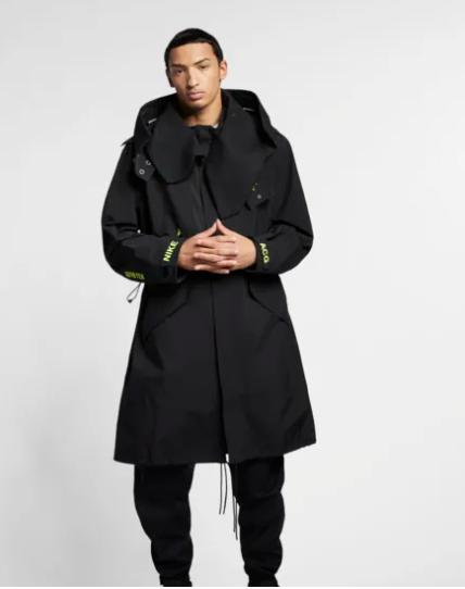 New Nike NIKELAB ACG GORE-TEX MEN'S Black Yellow JACKET Coat