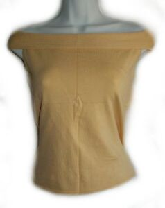 Yellow Fine Knit Over The Shoulder Top - NEW