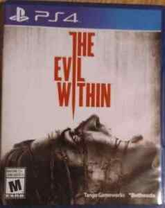 PS4 Game: The Evil Within