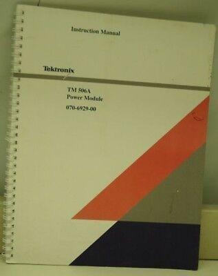 Tektronix Tm 506a Power Module Instruction Manual