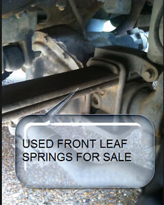 Stock Front Leaf Springs from 2000 Ford F250 Diesel 4x4
