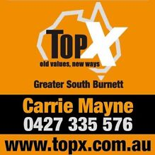 TopX GSB Greater South Burnett Goomeri Gympie Area Preview