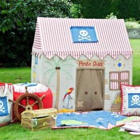 Pirate Shack play tent, perfect condition, RRP £170, on offer for £90