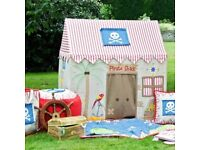 Pirate Shack play tent, perfect condition, RRP £170, on offer for £75