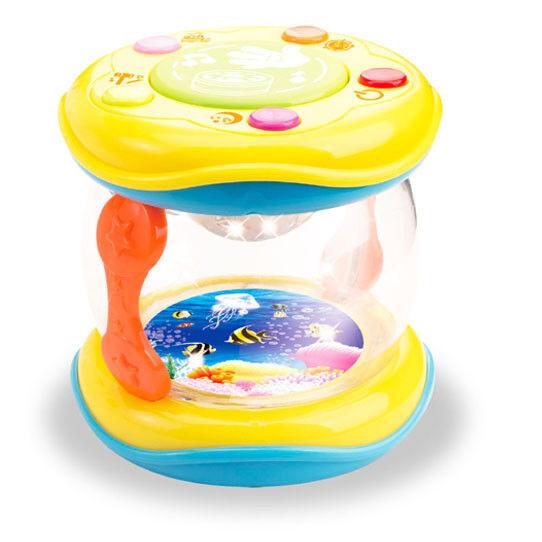 Baby Spielzeug  Trommel - Meerestrommel - Reisespiel fürs Auto